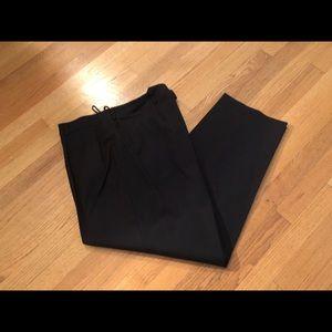 Talbots Black Wool Pants, Size 20W